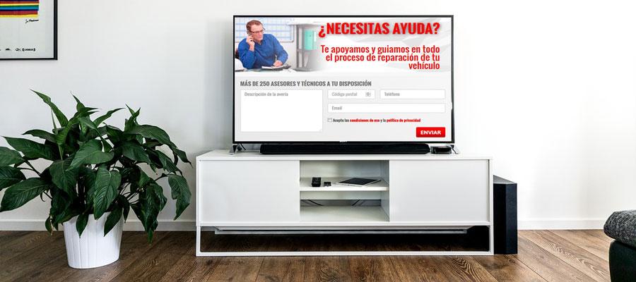 Presupuesto online o como reparar tu coche sin moverte del for Como arreglar un sofa